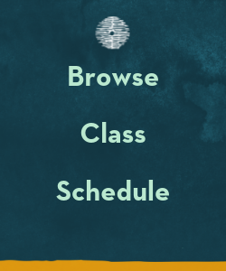Browse Class Schedule