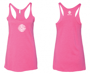 Mind Oasis Pink Tank Top (sizes XS-XL)